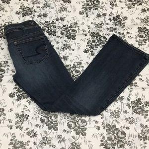 A&E bootcut super stretch jeans